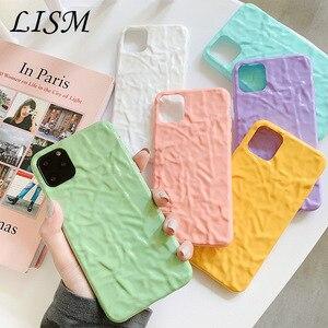 Image 1 - Iphone8case 용 소프트 폰 케이스 iphone 11Pro X 용 귀여운 실리콘 케이스 XR XS Max 7 6 iphone 11 케이스 용 커버 Pure color fold