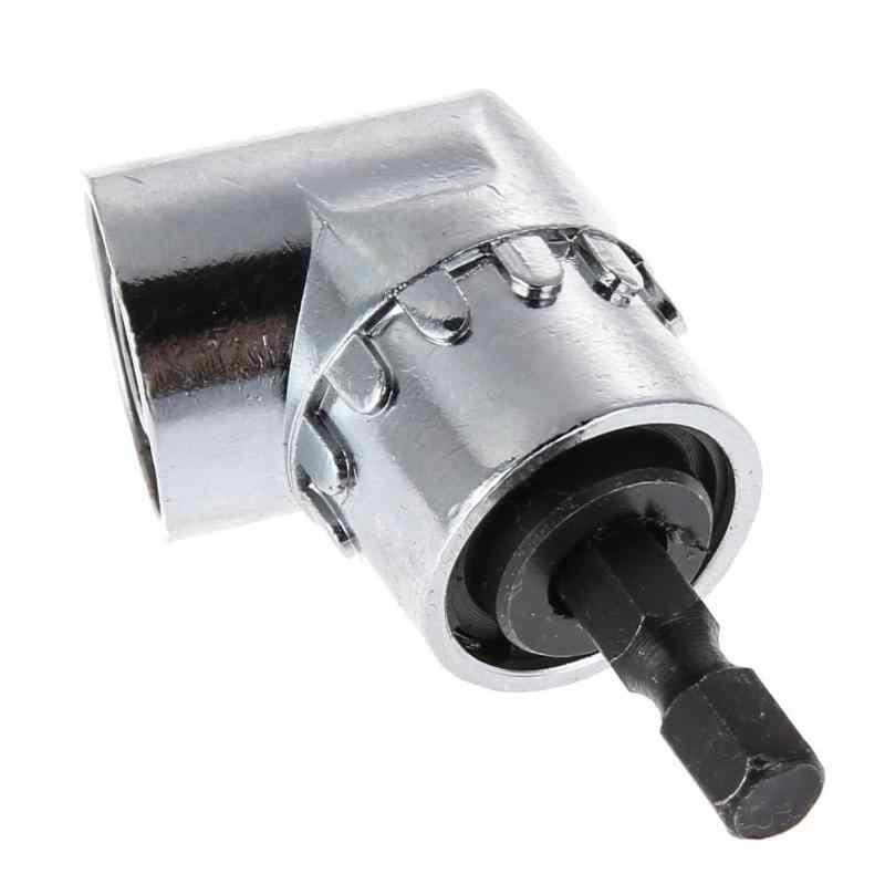 Destornillador de cabeza de ángulo recto de 105 grados vástago hexagonal de 1/4 para taladro eléctrico extensión para destornillador de potencia accesorio de taladro