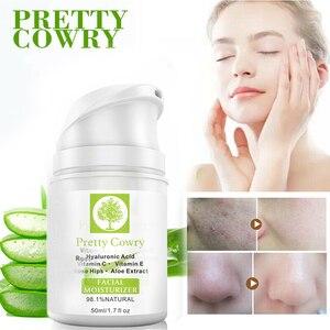 50 ML Retinol Face Cream-Serum With Vitamin C, E + Hyaluronic Acid Aloe Extract Whitening Cream Anti-Aging Advanced Cosmetic