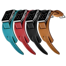 New Wrist Belt For Apple Watch Band Leather Loop 42mm 38mm L