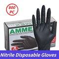 100/800 ПК нитриловые одноразовые перчатки латексные перчатки для домашнего использования Кухня лаборатории чистящие перчатки мужские перча...