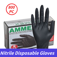 Disposable-Gloves Guantes Laboratory Household 100/800pc-Nitrile Kitchen