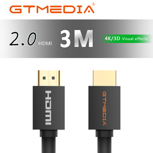 GTMEDIA HDMI Cable HDMI to HDMI Cable 4K HDMI 2.0 3D Cable for Splitter Switch TV LCD Laptop Projector Computer CableTV BOX(China)