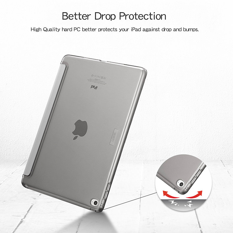 PU for Qijun-Case Auto-Sleep Fundas Gen Smart-Cover A2428/A2429/Pc/.. 8th Apple iPad