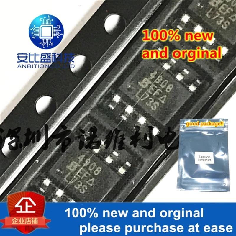 10pcs 100% New And Orginal SI4908DY-T1-E3 SOP-8 SI4908 N 4908 40V 4.1A MOS In Stock