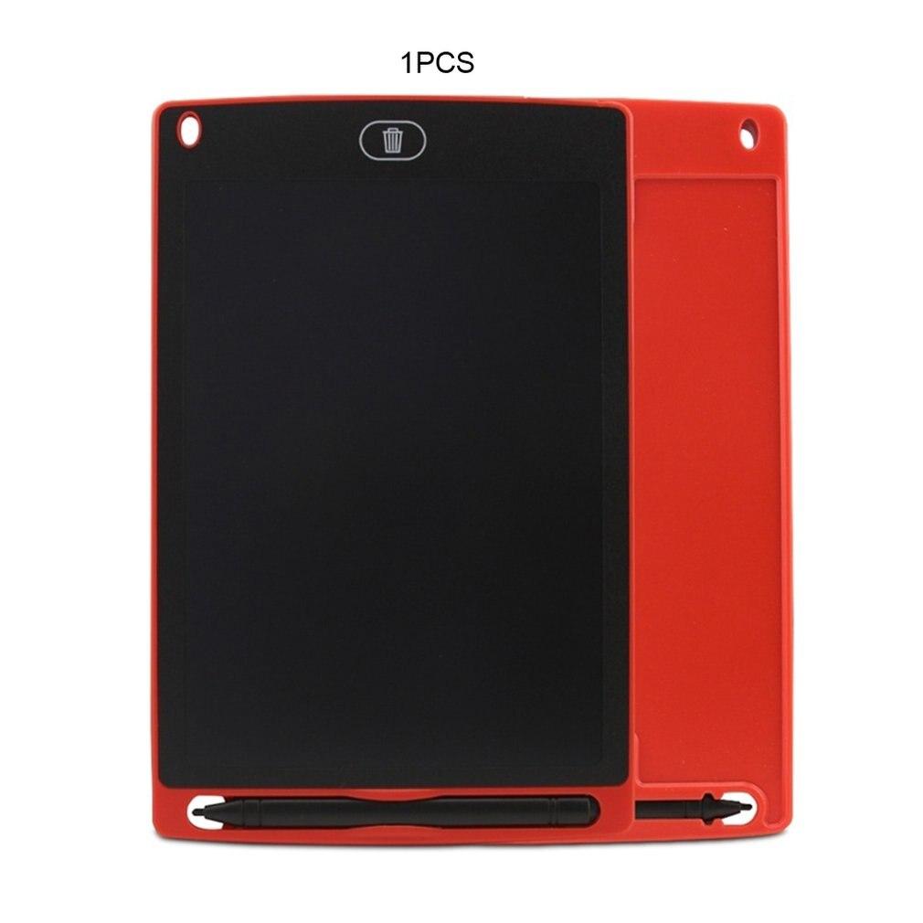 Планшет для рисования 8,5 Дюймов Черный дропшиппинг - Цвет: Красный