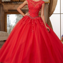 Dress Quinceanera-Dresses Party-Gowns Aixiangsha Back-Ball Sweetheart Floor-Length Crystal