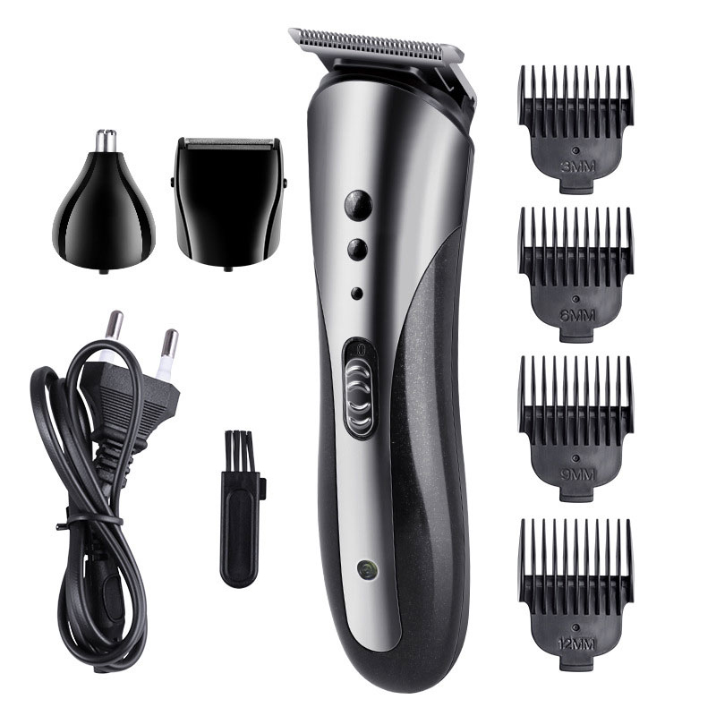 Barber Professional Electric Hair Clipper Baldheaded Beard Hair Trimmer for Men Cutter Rechargeable Electric Haircut Machine