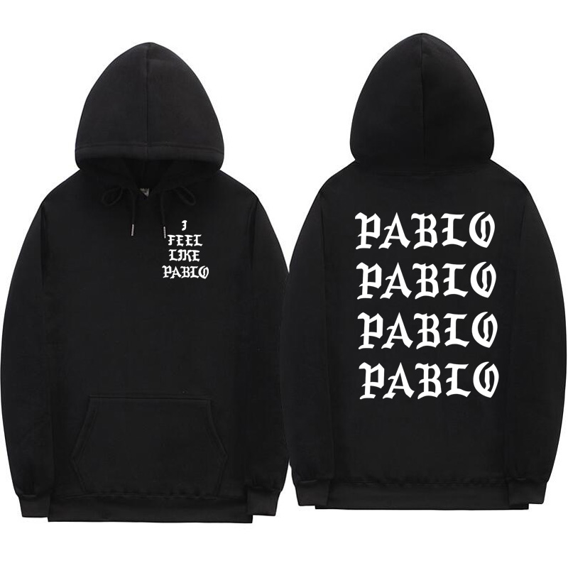 Oversized Hoodie, I Like Paul Pablo Kanye West Sweatshirt Homme Hoodie Men's Hoodie Hip Hop Streetwear Hoody Pablo Hoodie