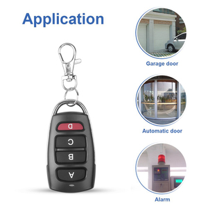 Image 2 - KEBIDU 4 כפתור שיבוט שיבוט להעתיק 433mhz חשמלי דלת מוסך שלט רחוק מעתק מפתח מרחוק בקר מתג