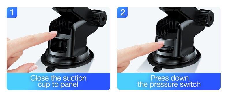 auto electic car phone holder  (5)