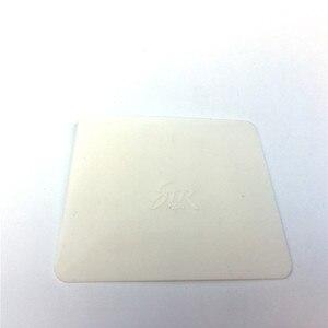Image 1 - Vinyl Carbon Fiber Film Wrap Witte Zachte Teflon Zuigmond 11*8 Cm Venster Tint Tool Auto Sticker Wrapping Styling accessoires