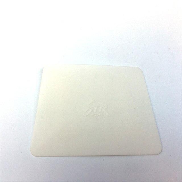 Vinyl Carbon Fiber Film Wrap Witte Zachte Teflon Zuigmond 11*8 Cm Venster Tint Tool Auto Sticker Wrapping Styling accessoires