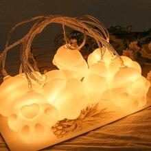 Outdoor 10LED String Lights Holiday Wedding Christmas Tree Indoor Decor