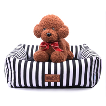 Dog bed mat, winter house pad, pet house, dog nest, striped  with kennel for small and medium-sized dogs in cozy nest e commerce adoption factors in small and medium sized enterprises