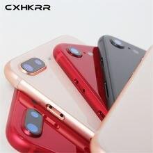 Черная белая красная Золотая сменная задняя крышка для iphone
