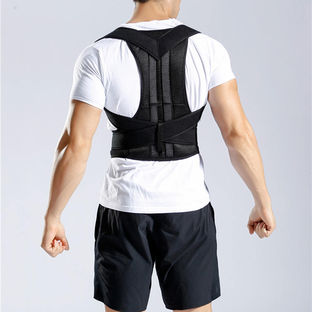 Adult Back Attitude Posture Correction With Back Jiao N'asakii Dai Strap Strengthen Orthosis Support Fixed Belt Hump Correction