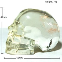 Natural skulls citrine quartz crystal for sale Stones and crystals home decoration decorative crystal crania