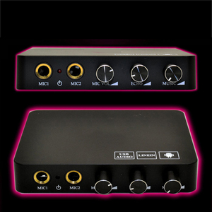 Image 5 - Mini familia inalámbrica casa Karaoke Echo sistema de mano máquina de cantar caja reproductor para Karaoke con micrófono