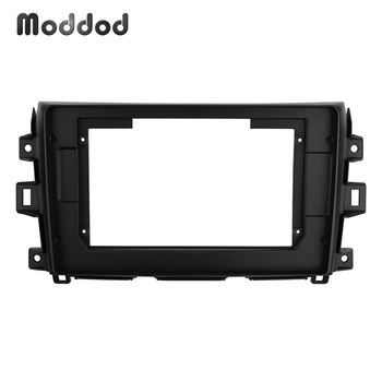 Fascia 10.1 inch Fit for NISSAN NAVARA 2014-2015 Car Radio Frame GPS DVD Installation Refitting Surround Trim Kit Dashboard image