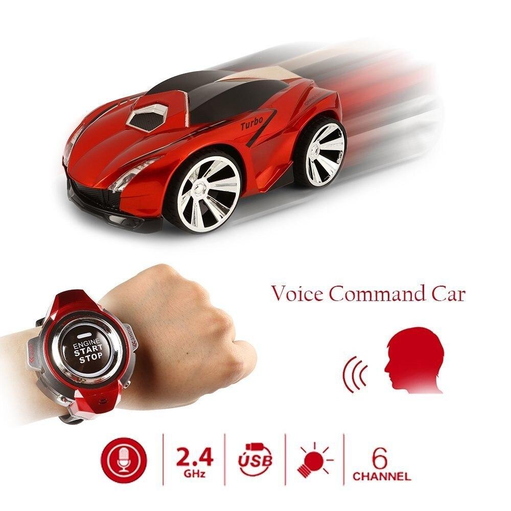 de corrida carro de voz relógio inteligente