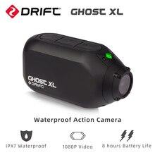 Cámara de Acción impermeable Drift Ghost XL con IPX7, impermeable, vídeo 1080P, 8 horas de duración de la batería