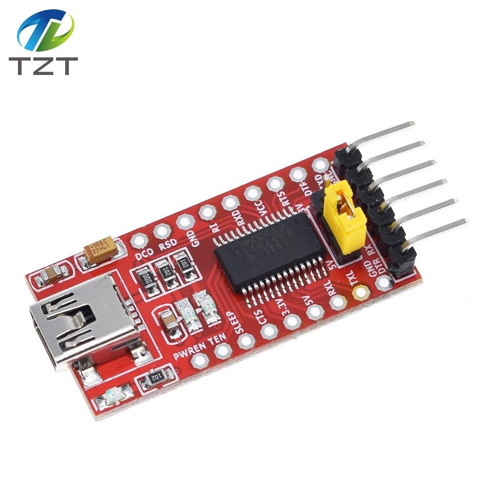 FTDI USB to TTL Serial Adapter Module for Arduino Mini Port FT232RL 3.3V 5.5V
