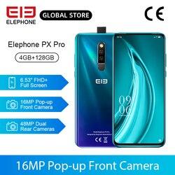 В наличии PX Pro мобильные телефоны 4 ГБ 128 ГБ Helio P70 Octa Core 6,53 ''FHD + 48MP задняя камера 16 МП всплывающая Передняя камера Беспроводная зарядка NFC