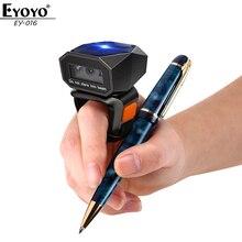 Readers Finger-Scanner Ring-Barcode iPad iPhone Eyoyo Mini Portable Wireless Bluetooth