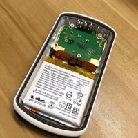 Original capa traseira com bateria para garmin edge 1030 gps bicicleta peças de reparo do computador substituição capa traseira caso com bateria