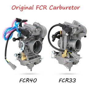 Image 4 - ZSDTRP Original 28 33 35 37 39 40 41mm Flatslide Carburetor FCR39 for KTM XR DR400 CRF450/650 KLX400/450 YZ450F Add Power 30%