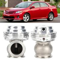 Exhaust Gas Recirculation Valve Universal Turbocharger 1.5in External Wastegate Kit Practical Car Modified Accessory car