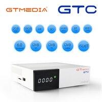 GTmedia GTC Android 6.0 satellite receiver DVB S2/T2/Cable/ISDBT Amlogic S905D 2GB RAM 16GB ROM support iptv m3u mag set top box