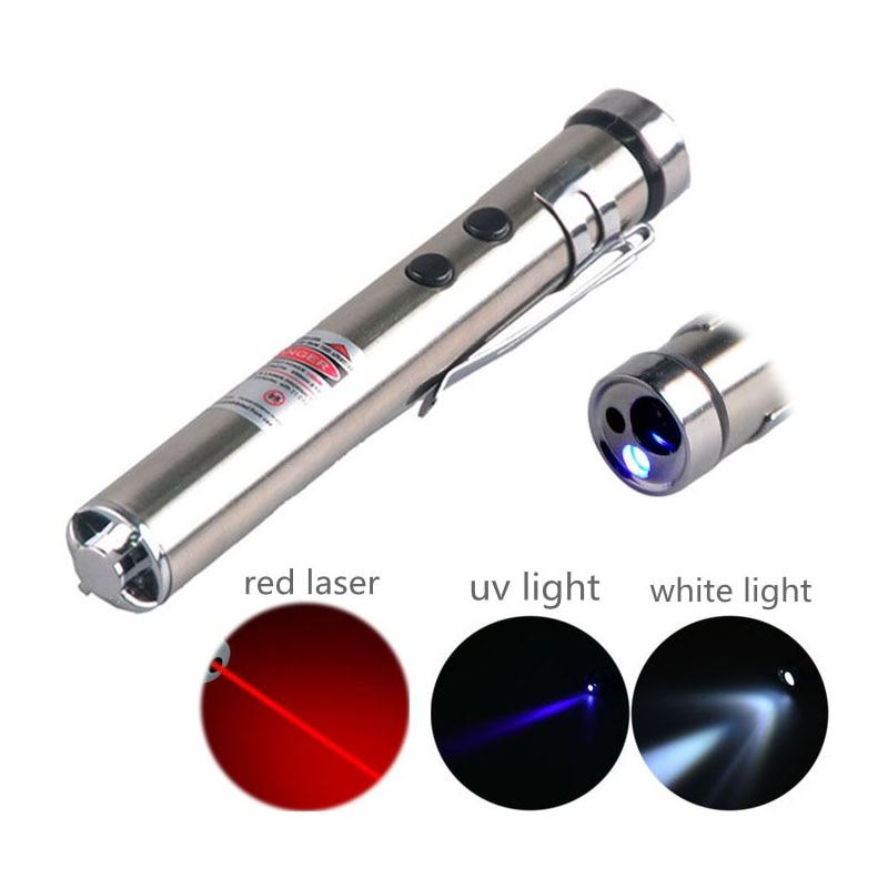 TMWT 3 In 1 Cat Toy UV 395nm Penlight Laser Pointer Flashlight Torch Lantern