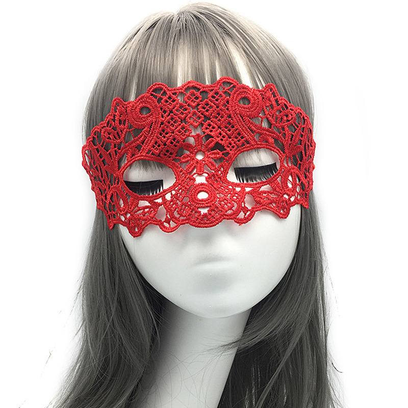 <font><b>Lace</b></font> Eye <font><b>Mask</b></font> Upper Face <font><b>Sexy</b></font> Mysterious Women Gothic Black Dance Masquerade Party Formal <font><b>Mask</b></font> Costume Cosplay <font><b>Halloween</b></font> Adult image