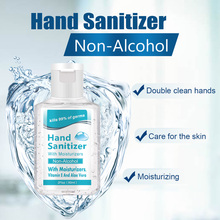 Disposable alcohol-free hand sanitizer with 75% alcohol content 60ml kills 99% of germs