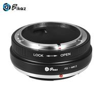 Fikaz For FD Nikon Z Lens Mount Adapter Ring Aluminum Alloy for Canon FD Mount Lens to Nikon Z6 Z7 Z Mount Mirrorless Camera
