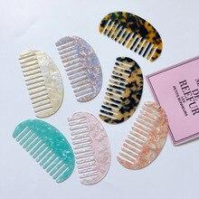Hairdressing Comb Acetate Girls Korean-Design New for Women