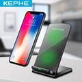 KEPHE 10 Вт Qi двойное Беспроводное зарядное устройство для iPhone X 8 10 Plus  быстрое зарядное устройство для телефона  док-станция для Samsung S8 S9 S9 + Note 8