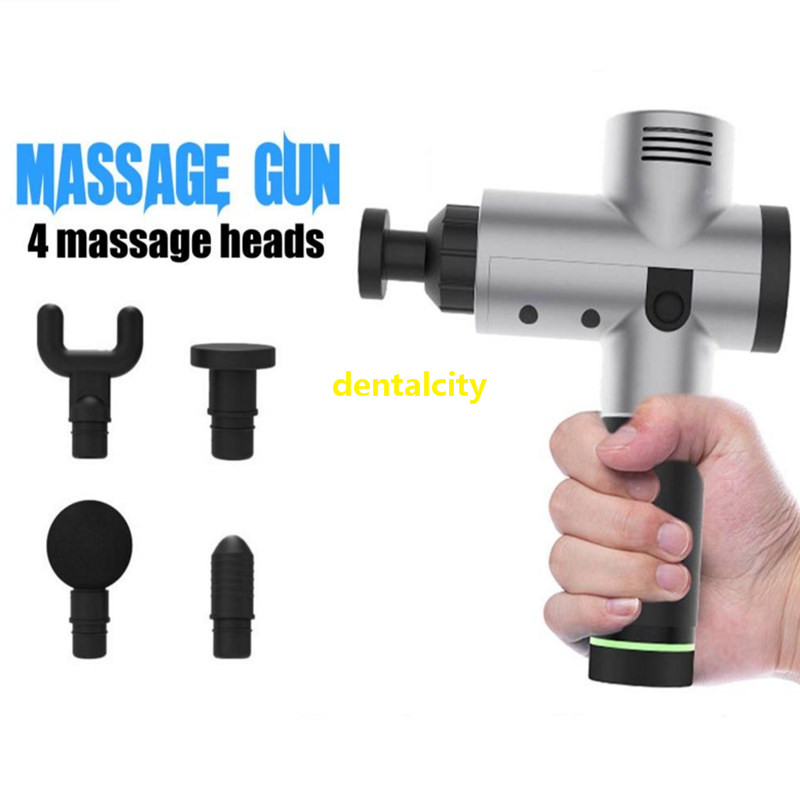 2019 New Relief Massager Tissue Massage Gun Muscle Massager Muscle Pain Management After Training Exercising Body Relaxation