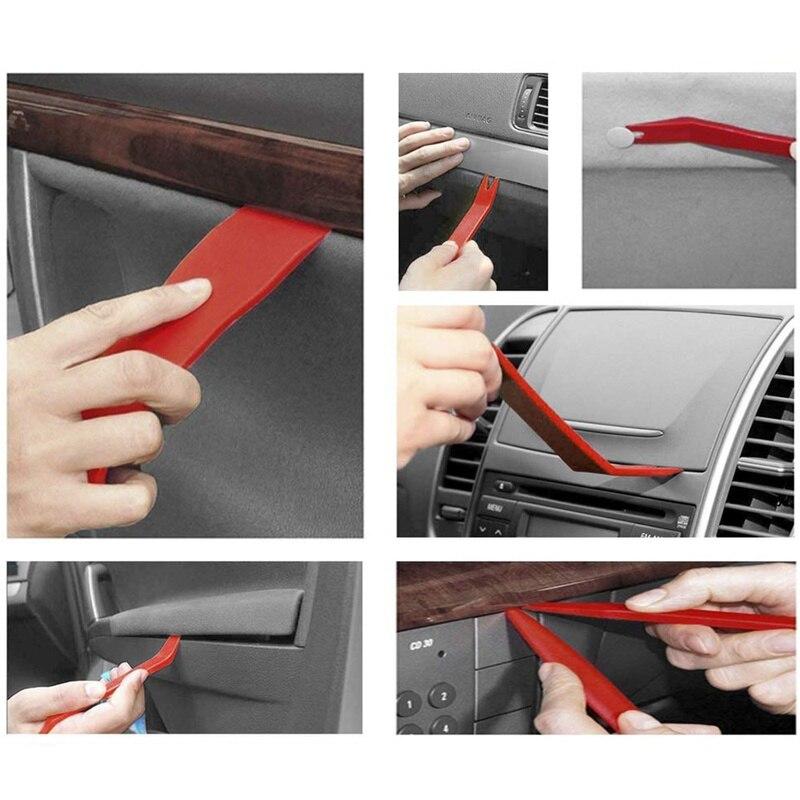 650Pcs Car Door Bumper Panel Fender Push Rivet Fastener Clips+30pc Removal Tools