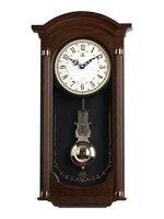 Chinês criativo grande relógio de parede retro shabby chic relógios de parede decoração da sua casa pêndulo relógios presente idéias fz694