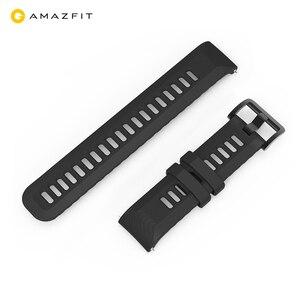 Image 1 - Correa de reloj Original para Xiaomi Huami Amazfit GTR, correa de silicona de 20mm y 22mm de ancho, 42mm y 47mm, Pace Stratos GTS Bip Lite