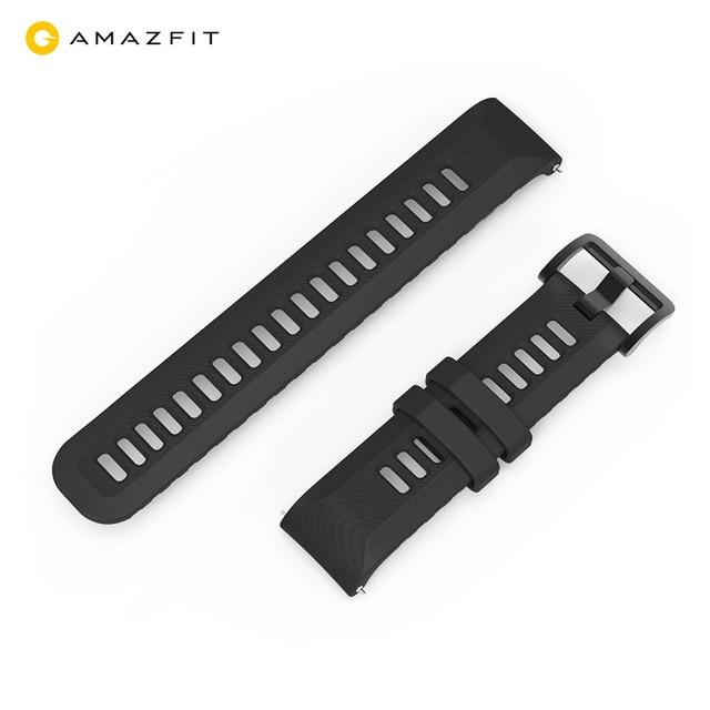 Correa de reloj Original para Xiaomi Huami Amazfit GTR, correa de silicona de 20mm y 22mm de ancho, 42mm y 47mm, Pace Stratos GTS Bip Lite