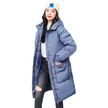 Women Long Oversize Winter Jacket Women Parkas Thick Coat Women Hooded Parka Warm Female Plus Size Puffer Winter Jacket Women