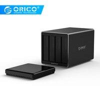 ORICO NS400U3 Tool Free 4 Bay 3.5 inch 5Gbps USB3.0 to SATA3.0 Hard Drive Dock UASP HDD Enclosure Case hard drive dock hdd enclosurehdd enclosure case -