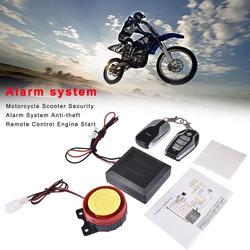 Nowy motocykl skuter bezpieczeństwa System alarmowy Anti-theft pilot do silnika rozpocząć z silnikiem Start zdalnie sterowany klucz Fob