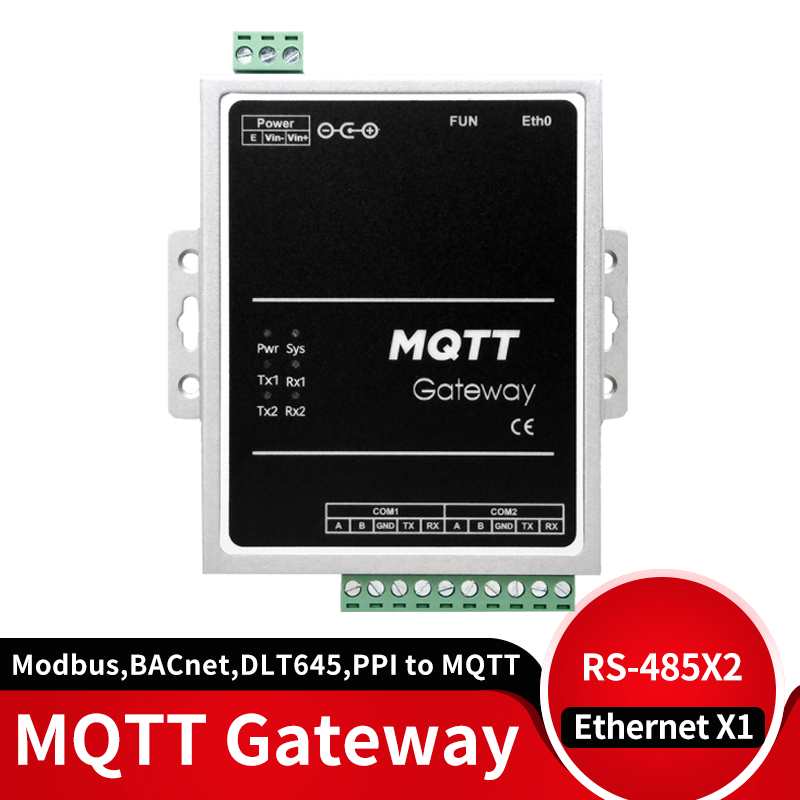 MQTT Data Acquisition Gateway 4G Module Supports ModbusRTU,ModbusTCP, BACnet, DLT645, Mbus, PPI Protocol