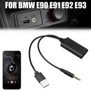Image 4 - Voor Bmw E90 E91 E92 E93 Bluetooth Ontvanger Autoradio 3.5 Mm Jack Plug AUX IN Aux Kabel BT5.0 Muziek Bluetooth adapter