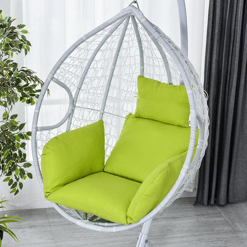 Hanging Basket Chair Cushion Swing Seat Removable Thicken Egg Hammock Cradle Cushion Outdoor Back Cushion J2Y